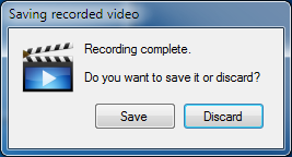 Camtica Save Recording
