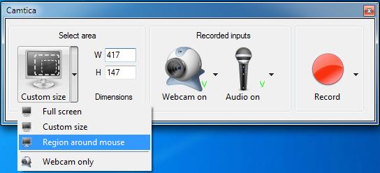 Camtica, Screen Recording Software, Desktop Recorder, Screen Recorder