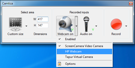 Camtica Webcam Device